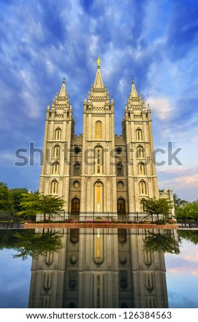 Tabernacle in temple square