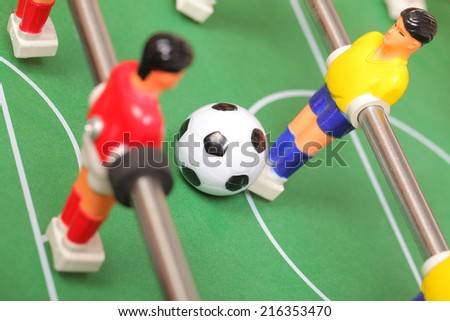 table football - stock photo