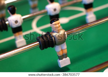 Table football figure