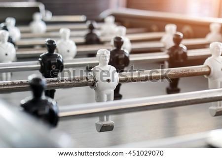 table football game - stock photo