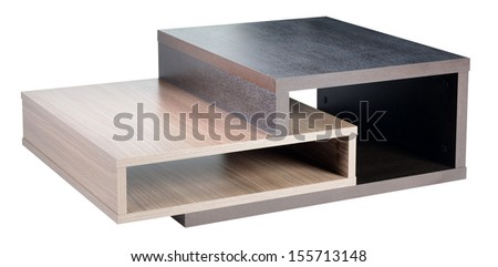 Table. Isolated - stock photo