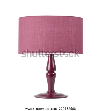 Table Lamp - stock photo