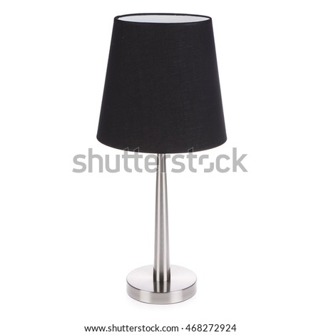 table lamp isolated