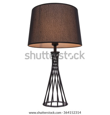 table lamp isolated on white background - Modern Table Lamp