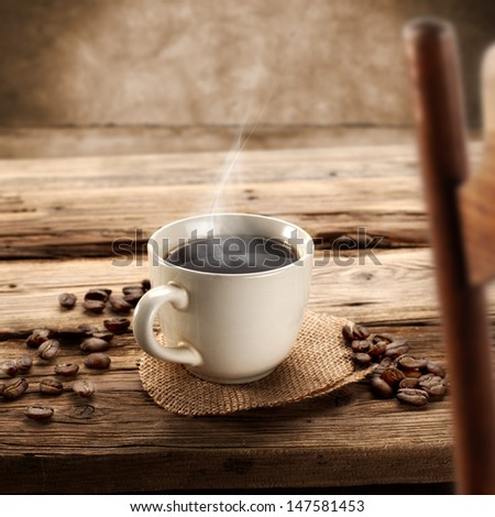table of coffee