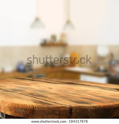 table of kitchen  - stock photo
