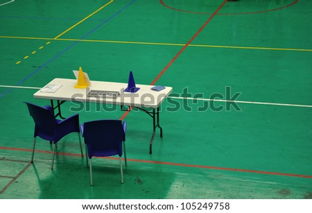table of referee