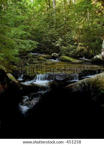 Table Rock Stream - stock photo
