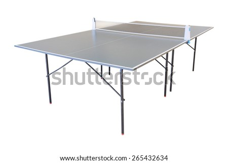 Table tennis in indoor - stock photo