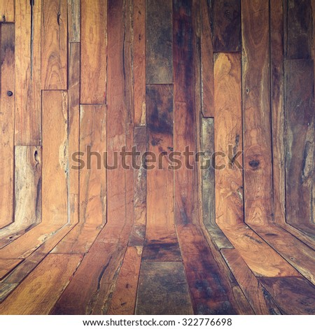 table wooden display of product, timber wood Industrial, brown wood plank texture background - stock photo