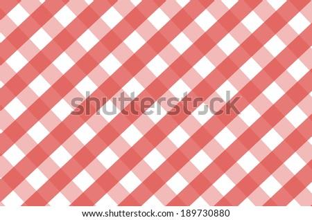 Tablecloth pattern seamless background. Vichy pattern. - stock photo