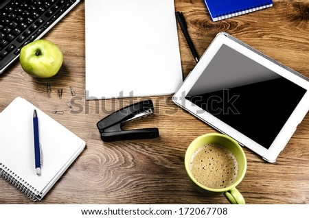 Tablet computer - stock photo