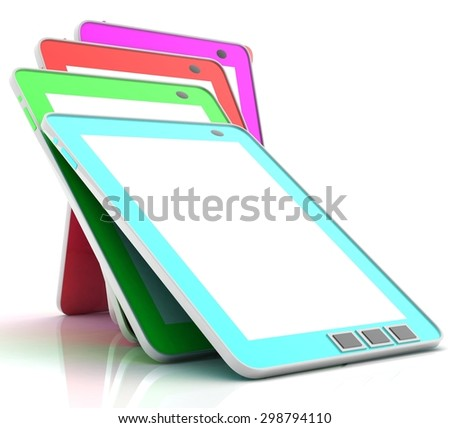 Tablet computer (e-book)