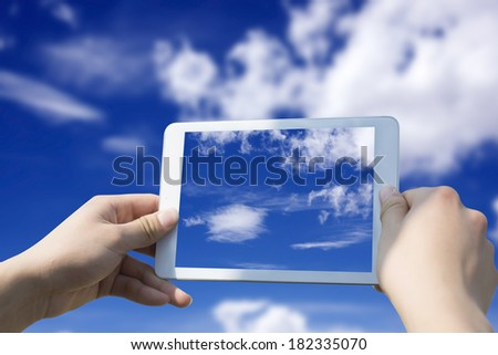Tablet PC camera