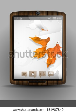 Tablet Pc & Mobile Phone. - stock photo