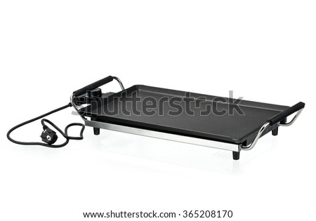 Tabletop grill - stock photo