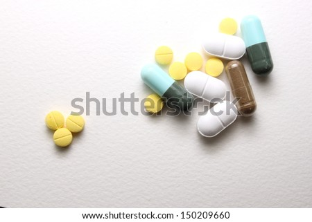 Tablets and capsules.