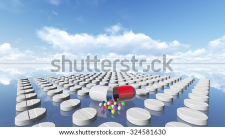Tablets and pill