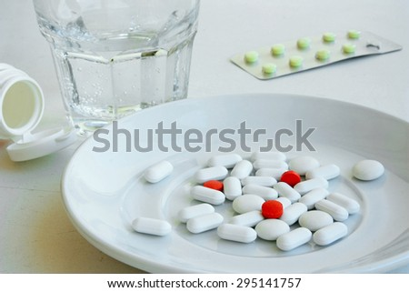 Tablets and vitamins