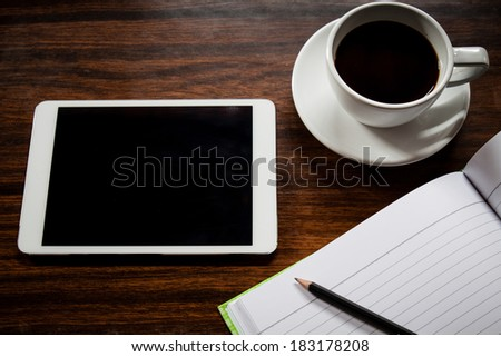 Tablets Touch Screen - stock photo