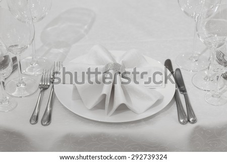 tableware - stock photo