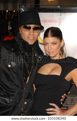 "Taboo and Stacy Ferguson  at the ""NINE"" Los Angeles Premiere, Mann Village Theater, Westwood, CA. 12-09-09"