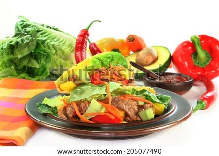 Taco - stock photo
