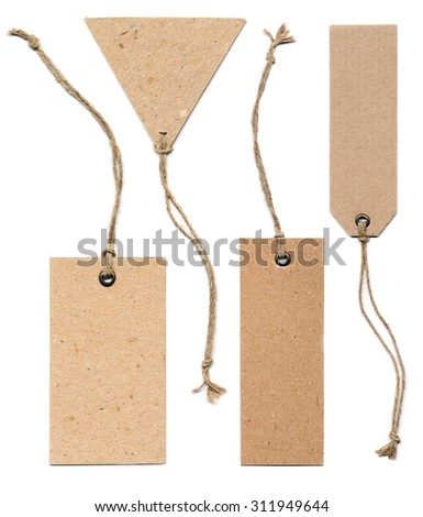 tag collection - stock photo