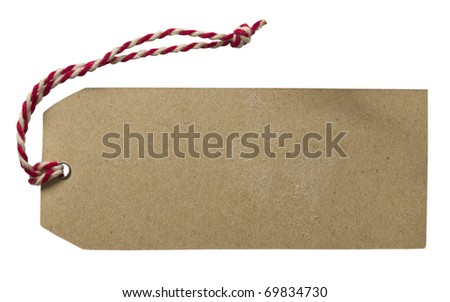tag or label - stock photo