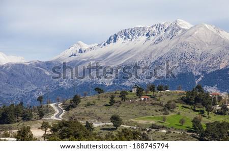 Tahtal? of mountains, Antalya, Turkey - stock photo