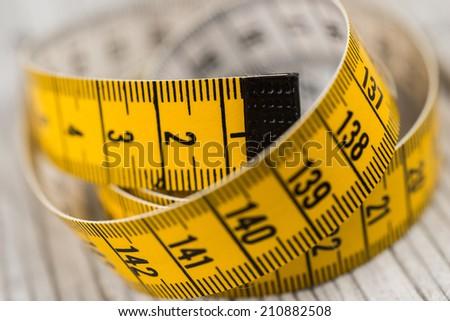 Tailoring Meter - stock photo