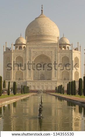 Taj Mahal - stock photo