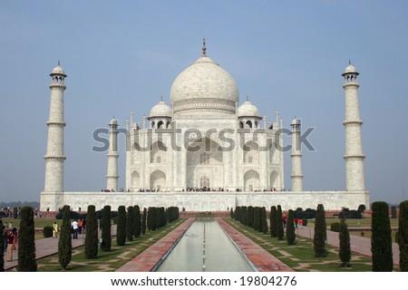 Taj Mahal 01 - stock photo