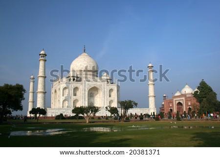 Taj Mahal 06 - stock photo