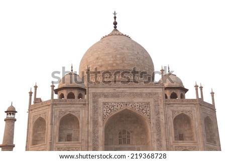 Taj mahal in agra;india - stock photo