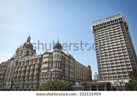 Taj Mahal Palace in Bombay, India, Asia - stock photo