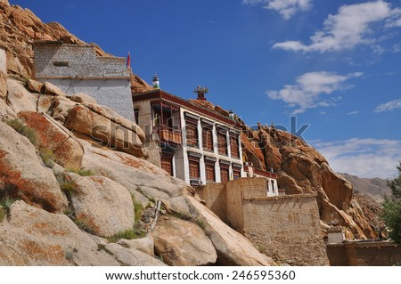 Tak Thog Gompa, Ladakh - stock photo