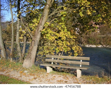 Take a seat on the Ziller River