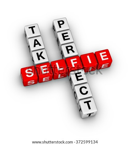 Take perfect selfie crossword puzzle