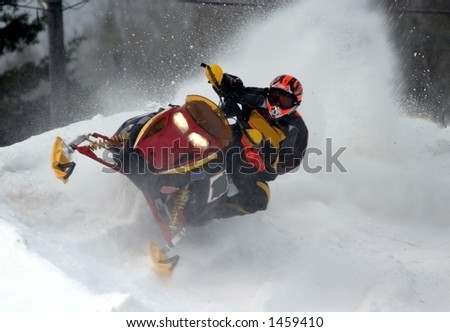 taken at kirkland lake snowmobile races