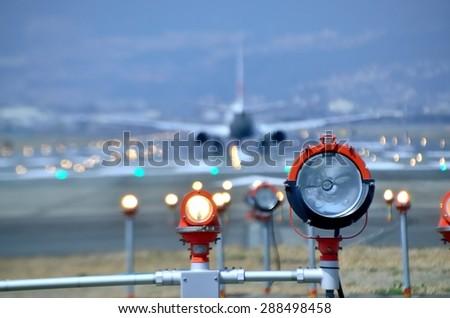 takeoff - stock photo