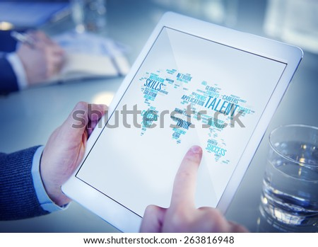 Talent Expertise Genius Skills Professional Concept - stock photo