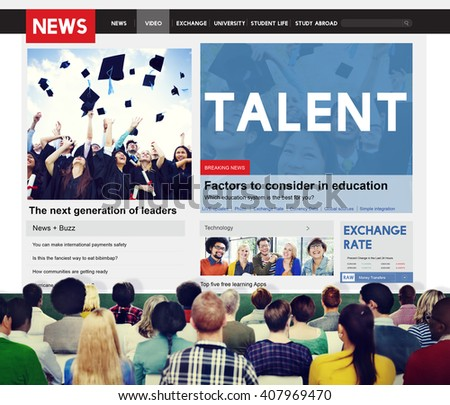 Talent Skilled Expertise Professional Abilities Concept - stock photo