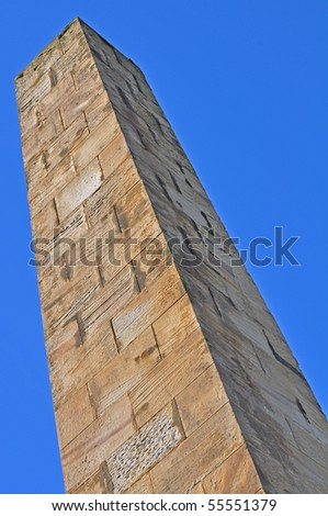 Tall vertical monument
