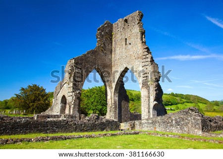 Talley Abbey, near llandeilo, Carmarthenshire, Wales, U.K.