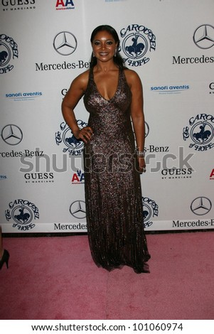 Tamala Jones at the 32nd Anniversary Carousel Of Hope Ball, Beverly Hilton Hotel, Beverly Hills, CA. 10-23-10