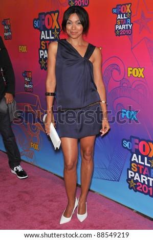 "Tamara Taylor - star of ""Bones"" - at Fox TV's All Star Party at Santa Monica Pier. August 2, 2010  Santa Monica, CA Picture: Paul Smith / Featureflash - stock photo"