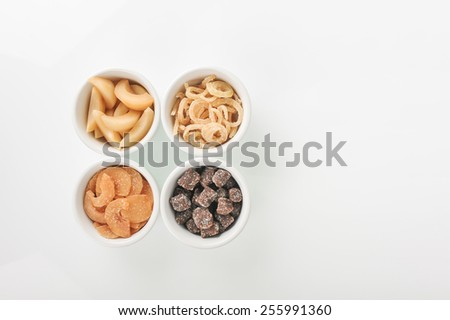 tamarind and nutmeg snack from thailand - stock photo