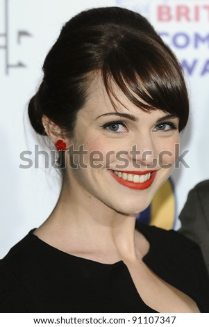Tamla Kari arriving for the British Comedy Awards 2011 at Fountains Studios, Wembley, London. 19/12/2011 Picture by: Steve Vas / Featureflash