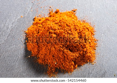 Tandoori Rub spices mix texture